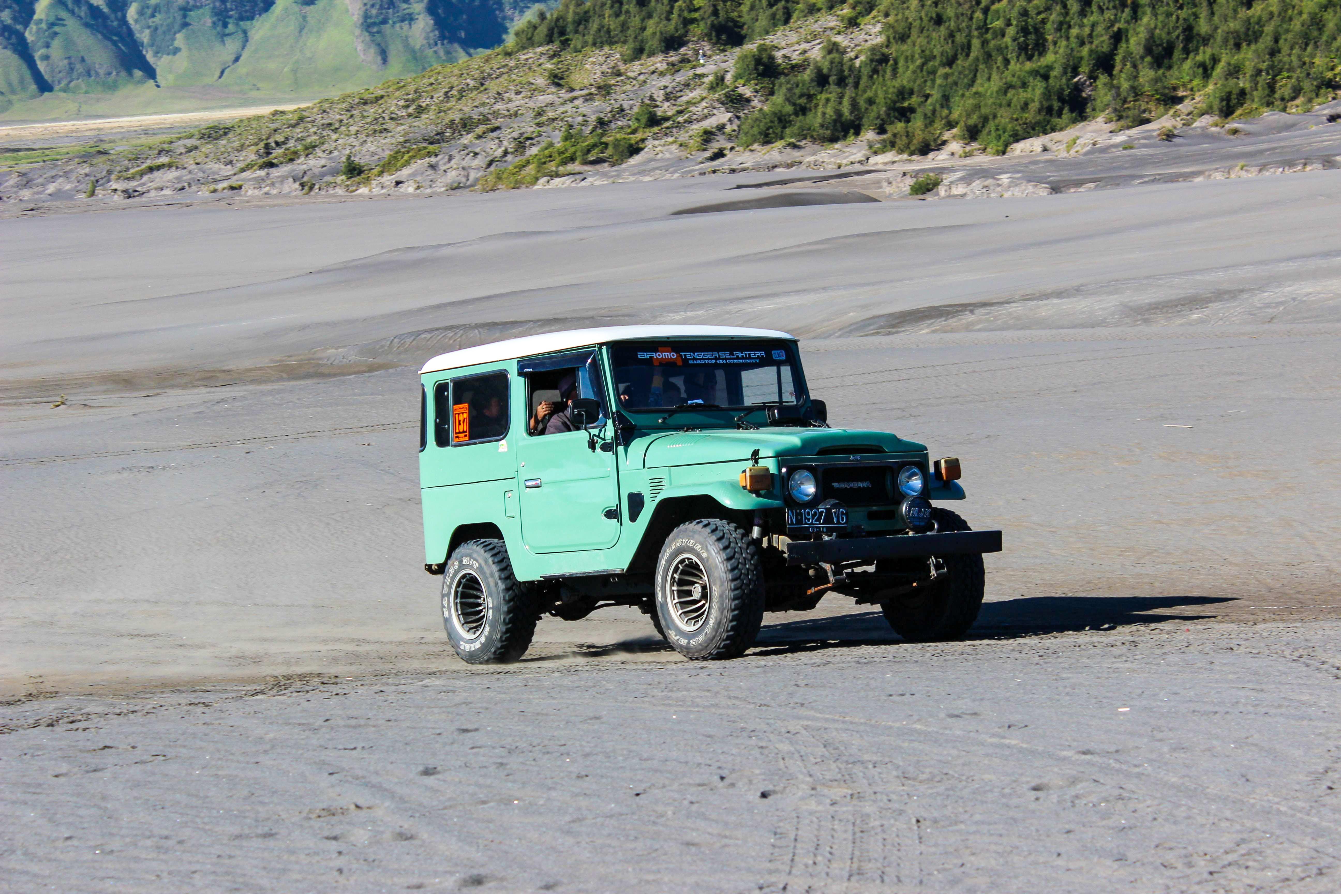 Free stock photo of 4x4, adventure, bromo, car