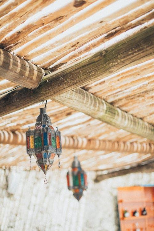 Multi-colored Pendant Lamps