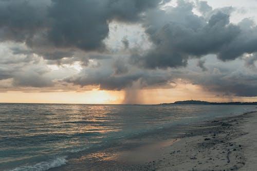 Fotos de stock gratuitas de amanecer, cielo, costa, mar