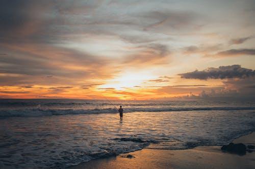 Ảnh lưu trữ miễn phí về biển, bình minh, bờ biển, giờ vàng