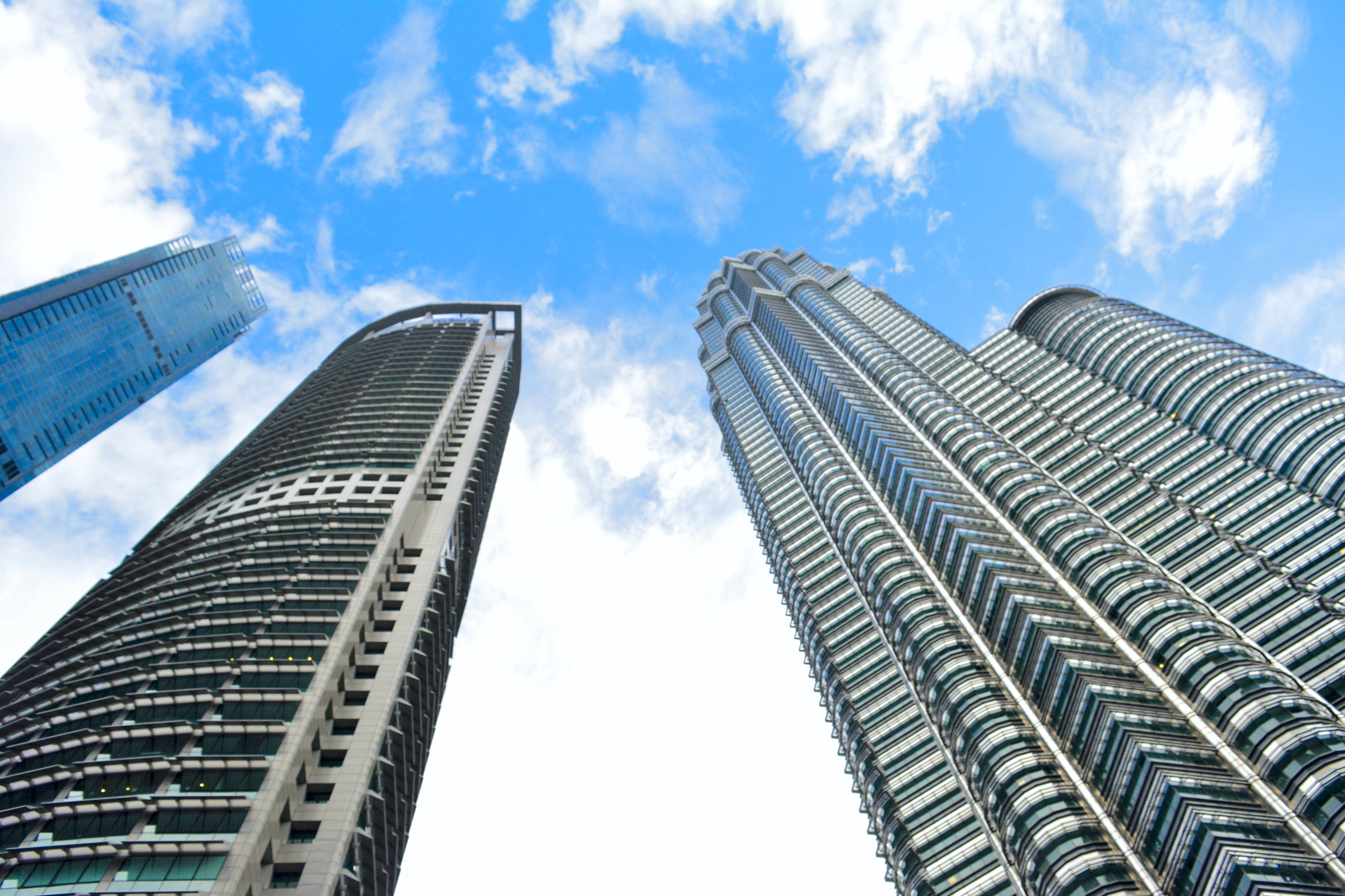 Free stock photo of architectural, building, buildings, petronas towers