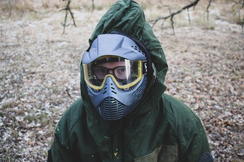 Free stock photo of forest, paintball
