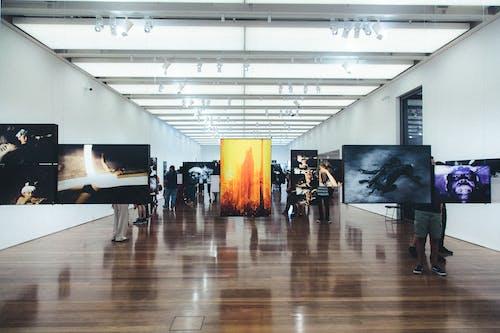 gallary, 交易大廳, 博物館, 地板 的 免費圖庫相片