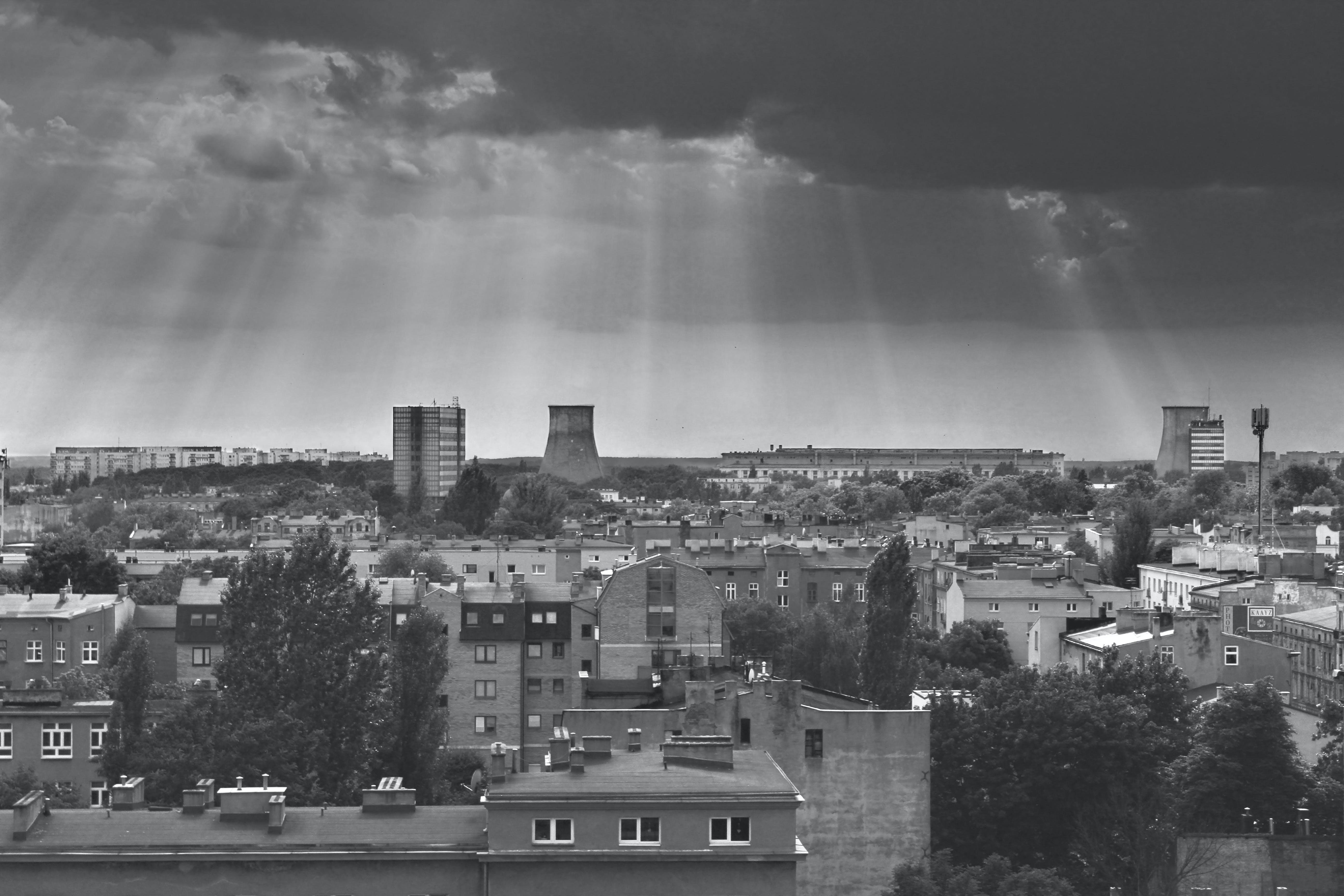 Free stock photo of city