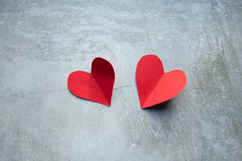 Free stock photo of background, cement, handmade, heart