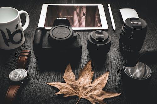 Gratis arkivbilde med brun, bærbar, digital enhet, elektronikk