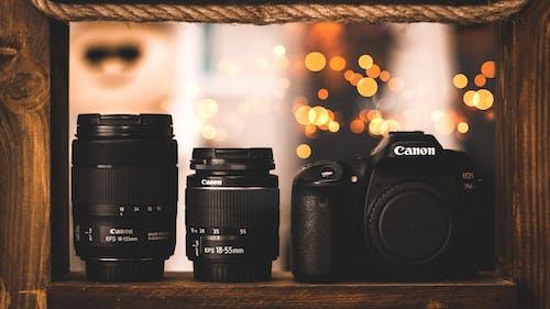 Gratis arkivbilde med canon, digitalt kamera, digitalt speilreflekskamera, elektronikk