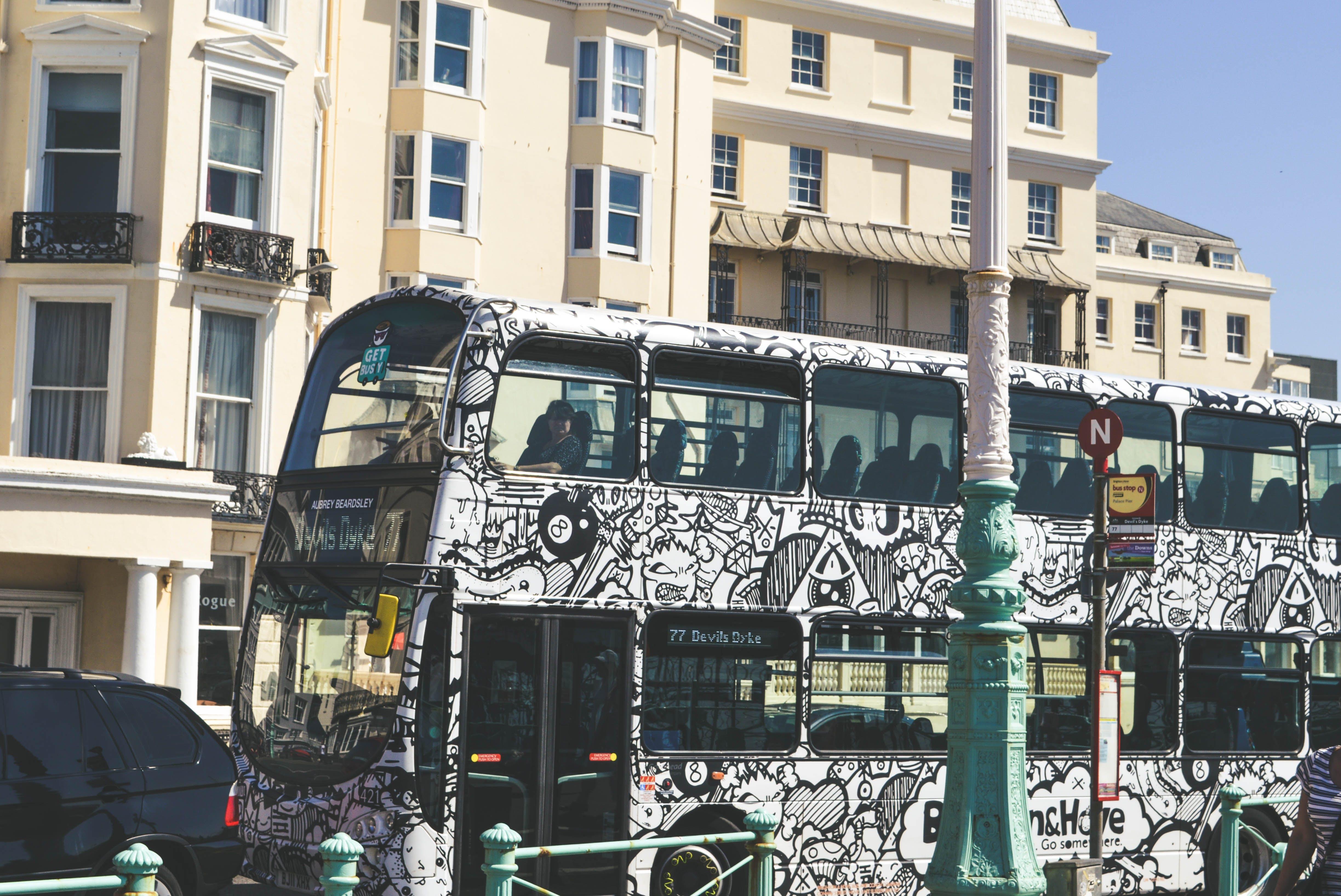 Free stock photo of beach, bus, capture, london