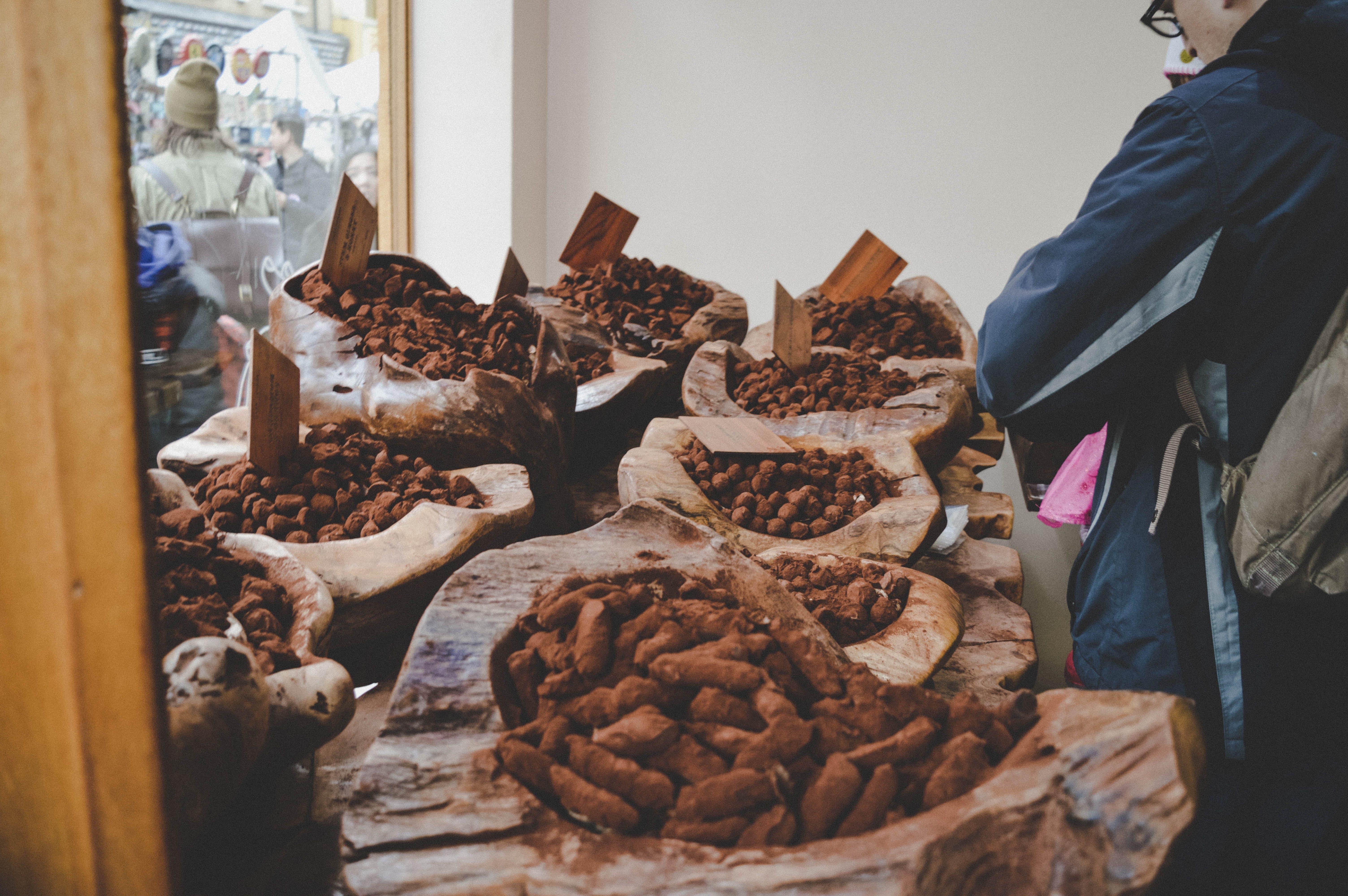Free stock photo of capture, chocolate, london, market
