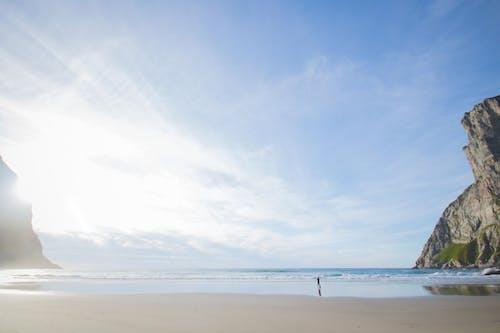 Photos gratuites de à couper le souffle, bleu, cailloux, ciel bleu