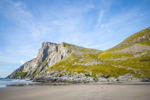 Free stock photo of backpack, beach, beautiful, blue