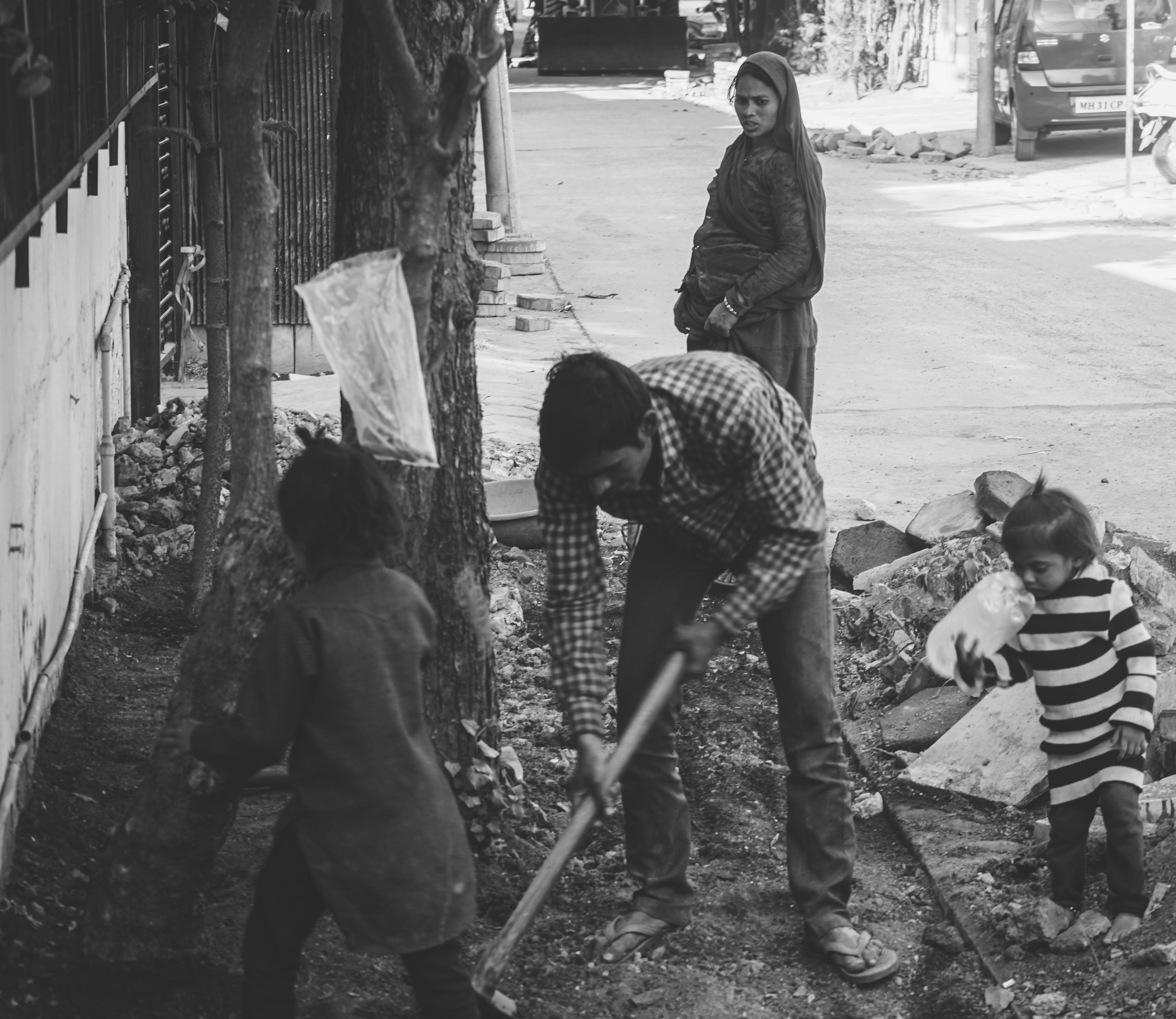 Gratis lagerfoto af arbejde, familie, hårdt liv, Indien