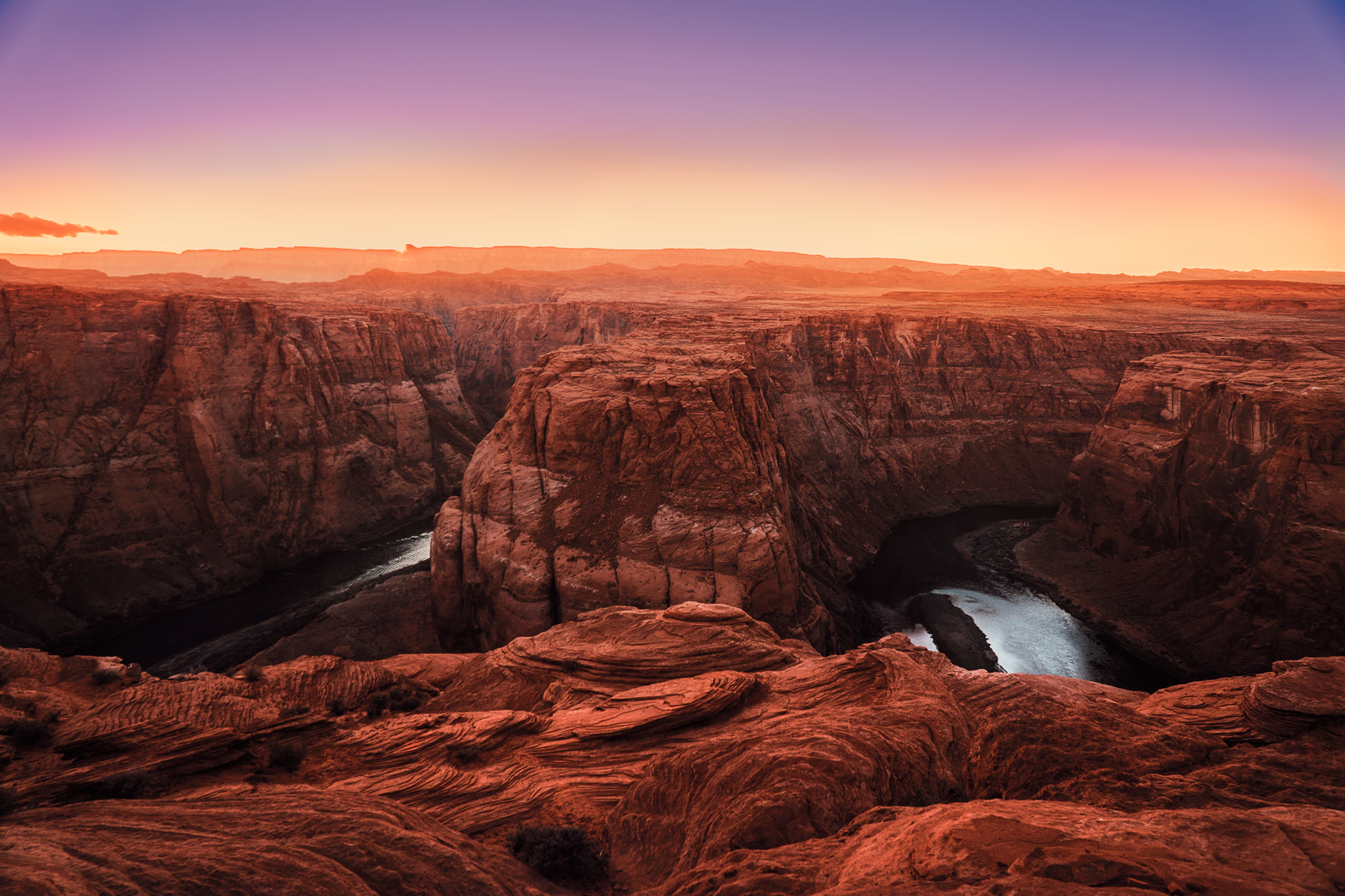 Grand Canyon during Sunset