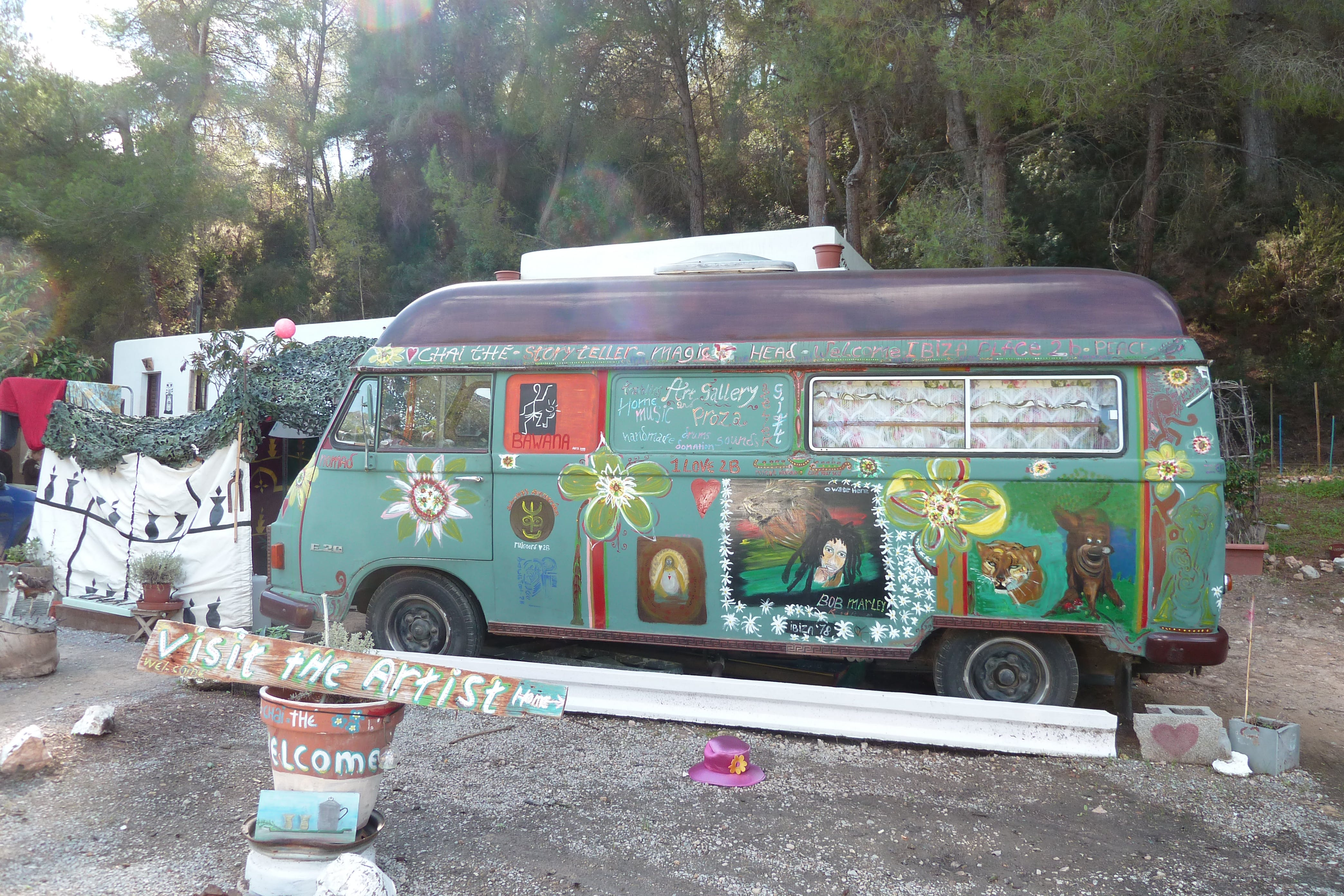 Free stock photo of flower power, hippy van, peace and love