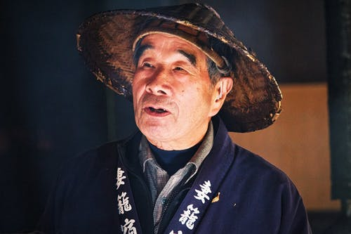 Foto stok gratis #japan #hat #nakasendo #travel #man