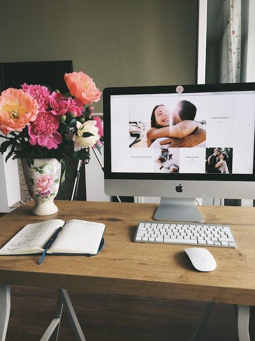 Fotobanka sbezplatnými fotkami na tému elektronika, izba, kancelária, klávesnica