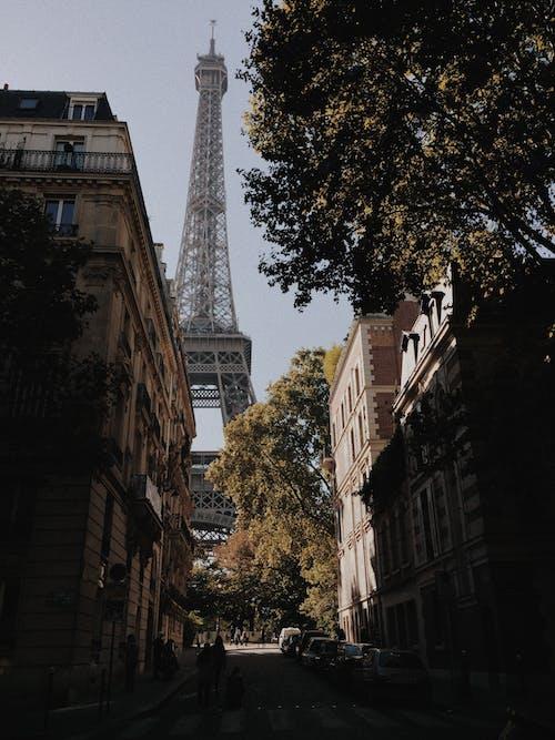 Бесплатное стоковое фото с автомобили, архитектура, башня, вид