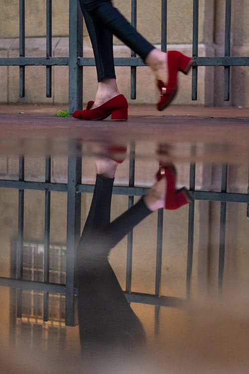 Free stock photo of reflection, streetphotography, woman