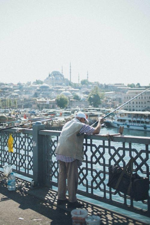 Δωρεάν στοκ φωτογραφιών με αλιεία, άνδρας, άνθρωπος, ψαράς