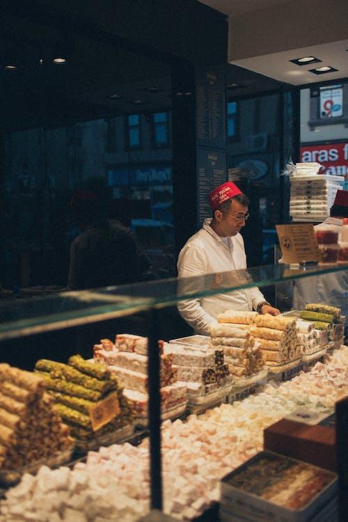 Man At A Bakery