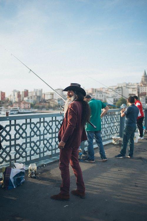Gratis lagerfoto af by, dagslys, fiskeri, fiskestang