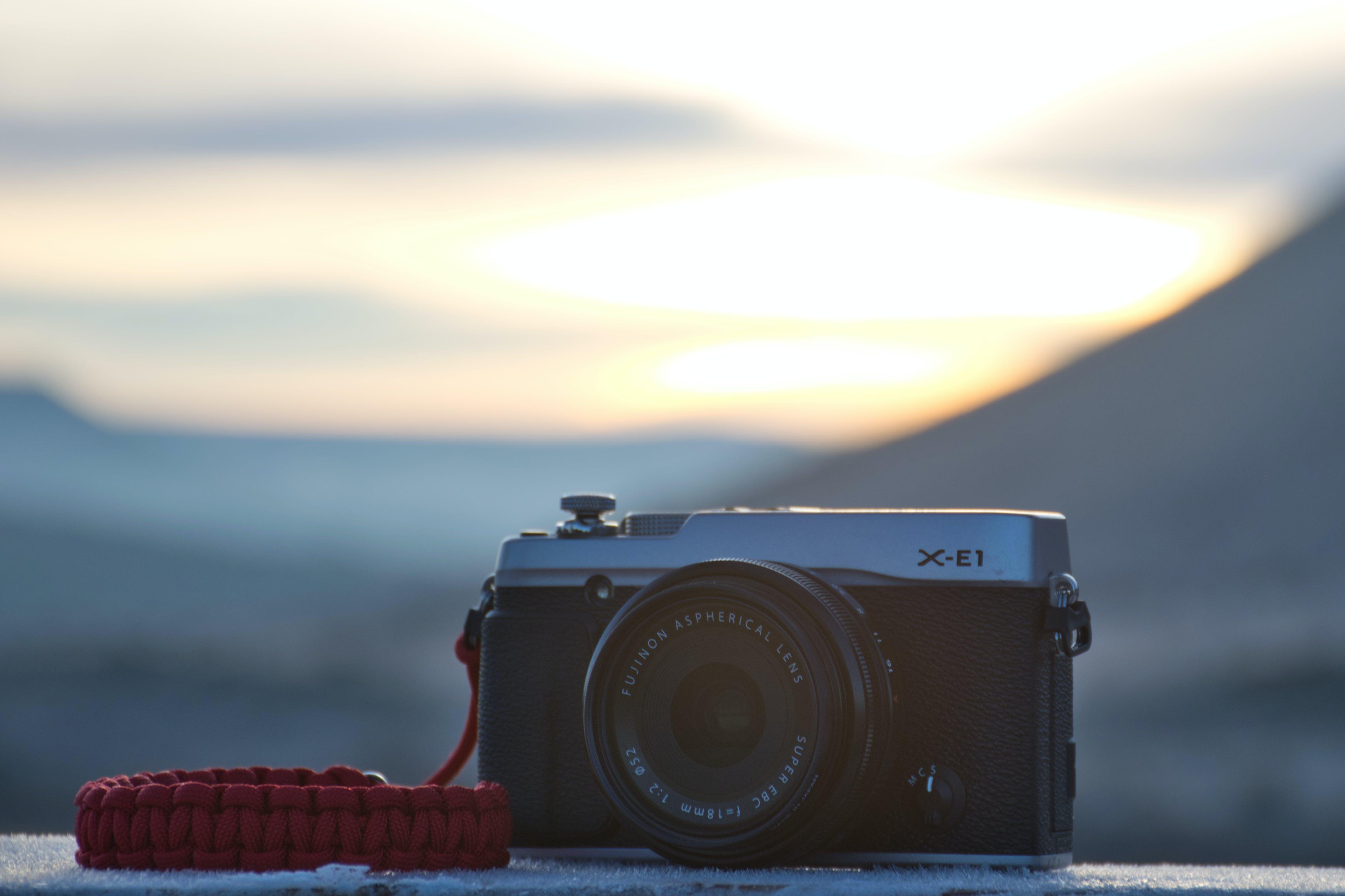 Free stock photo of camera, fujifilm, sunrise