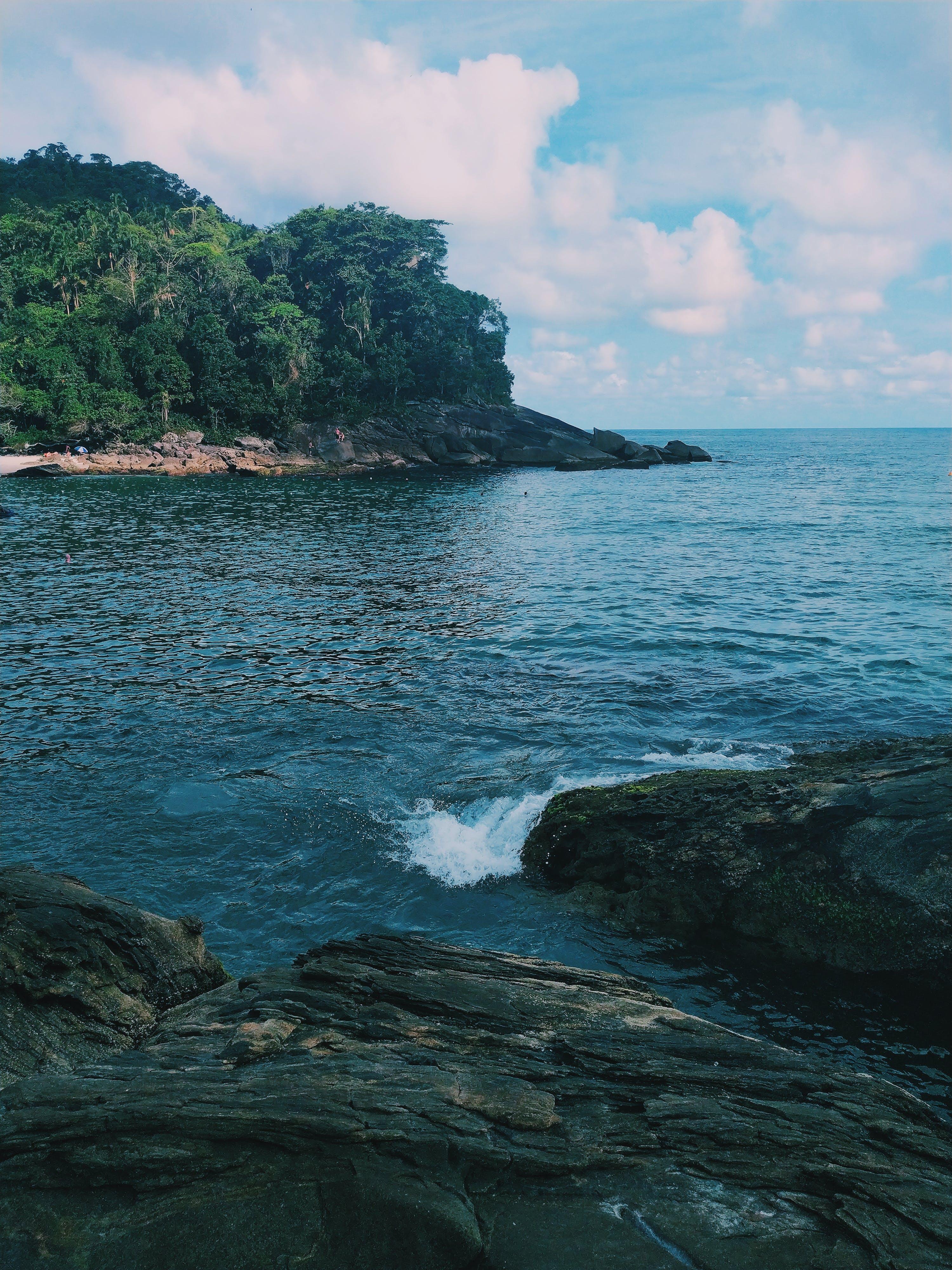 Free stock photo of beach, blue sky, brazil, calm