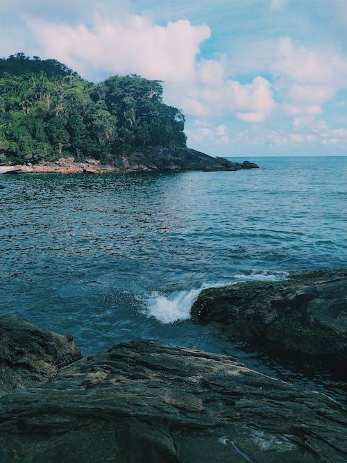 Free stock photo of beach, blue sky, brazil