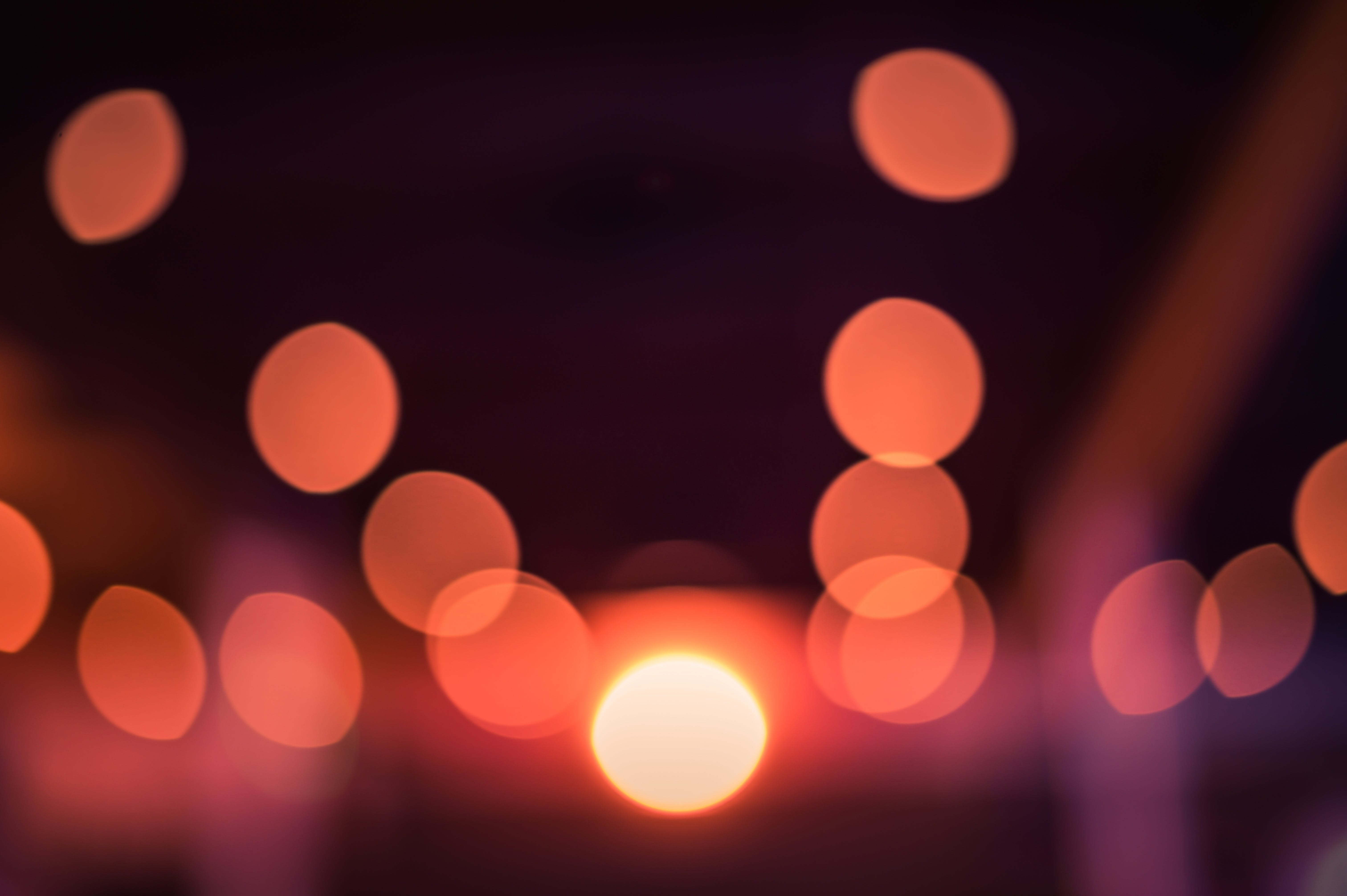 aydınlatılmış, belli belirsiz, bit, bulanıklık içeren Ücretsiz stok fotoğraf