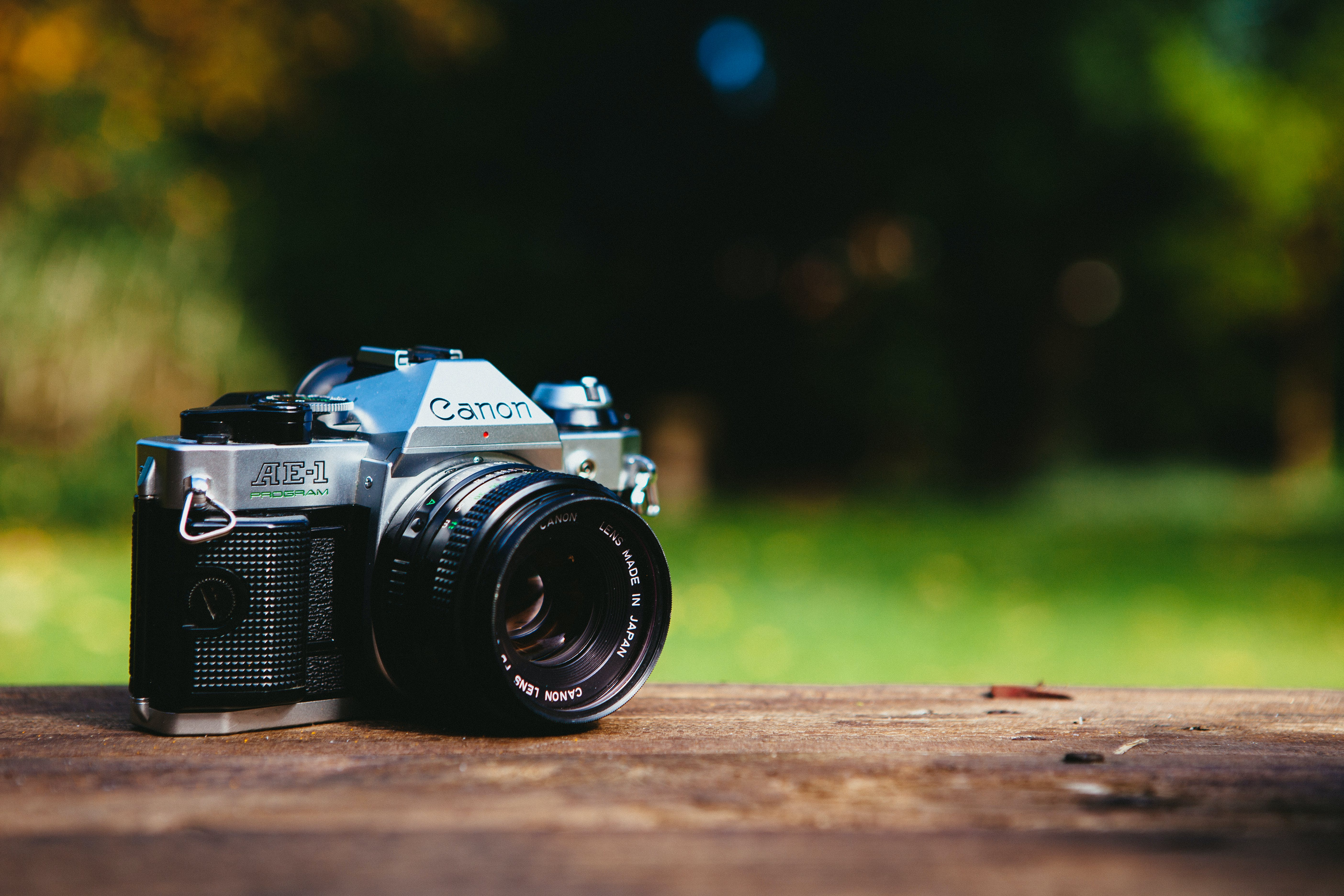 Free stock photo of nature, camera, photography, analog camera