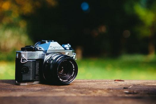Free stock photo of nature, camera, photography, analog camera