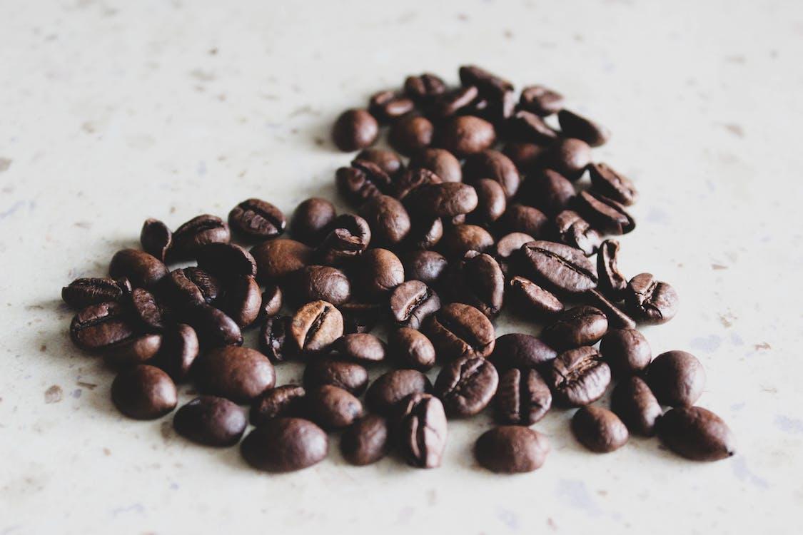 aromatisch, bonen, cafeïne