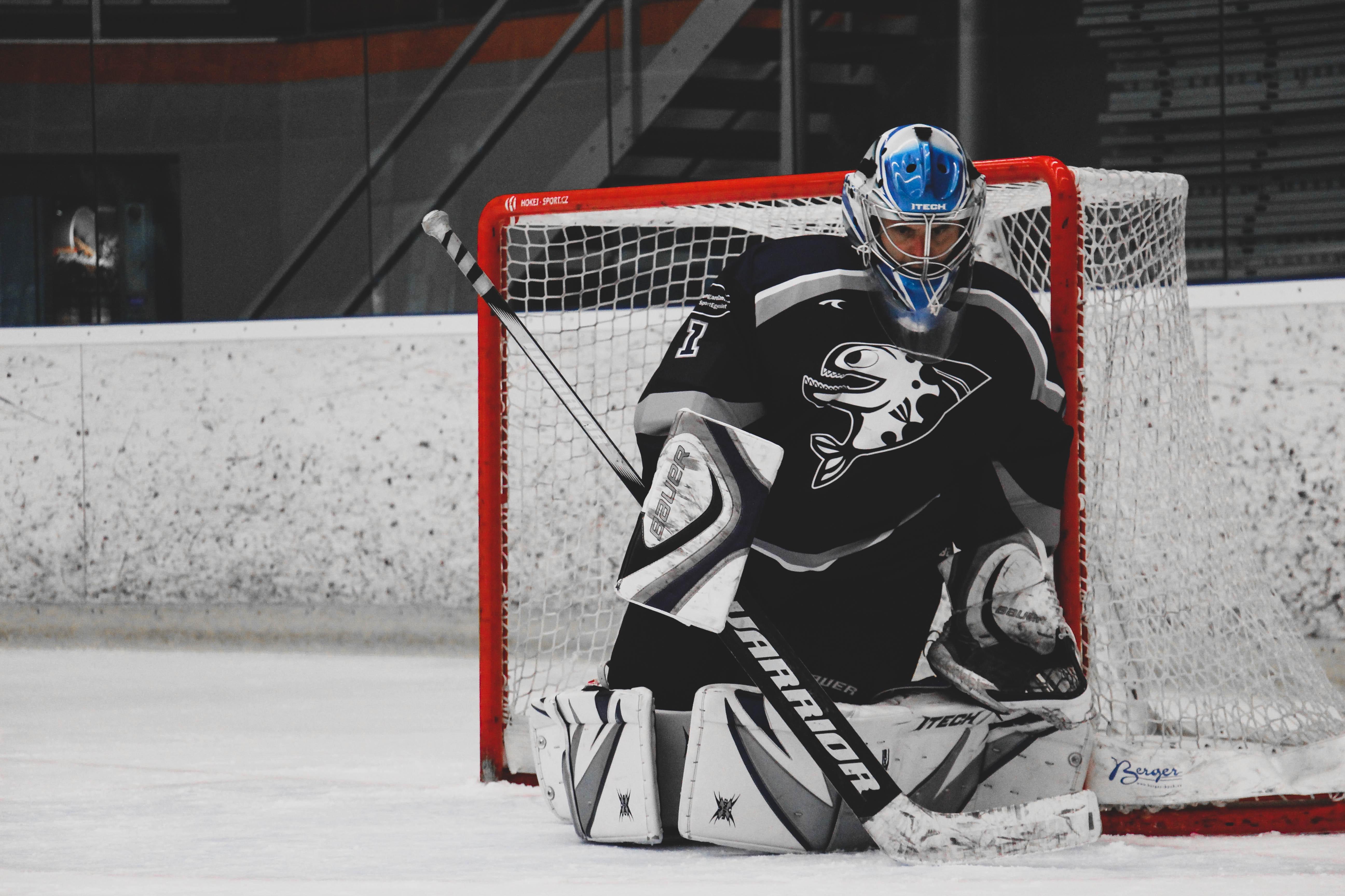 Free stock photo of hockey stick, ice hockey, sport