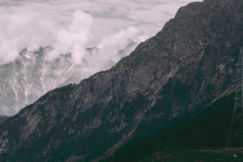 Fotos de stock gratuitas de acantilados, alto, césped, cielo