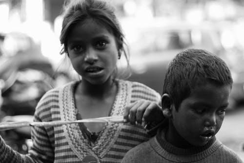 Kostnadsfri bild av barn, flicka, gata, gatan folk
