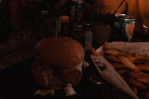 Бесплатное стоковое фото с бургер, гамбургер, еда, красивая еда