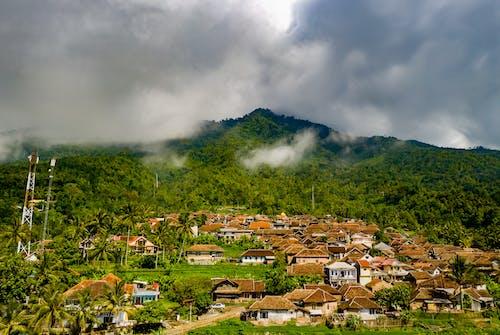 印尼, 城鎮, 多雲的, 天性 的 免费素材照片