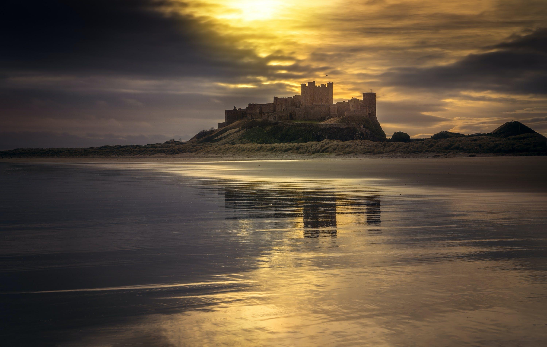 Fotos de stock gratuitas de amanecer, bonito, castillo, costa