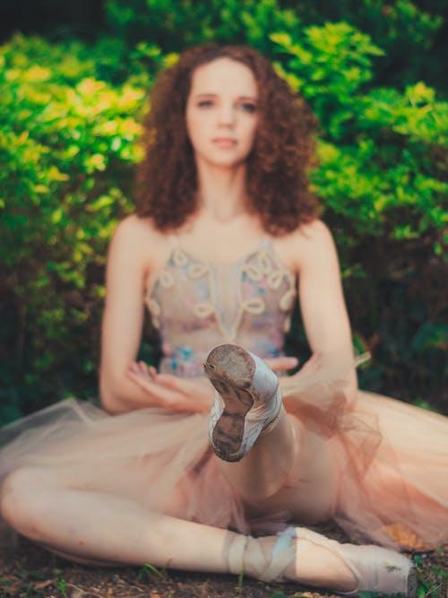 Základová fotografie zdarma na téma atraktivní, baletka, baletní obuv, dáma