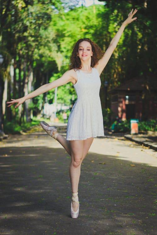 Photo of Ballet Dancer on Street