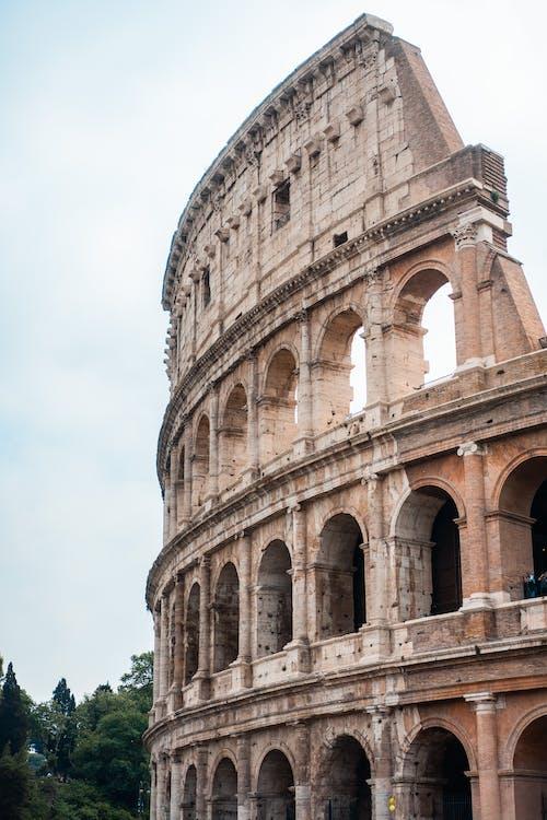 Бесплатное стоковое фото с Амфитеатр, арки, архитектура, достопримечательность