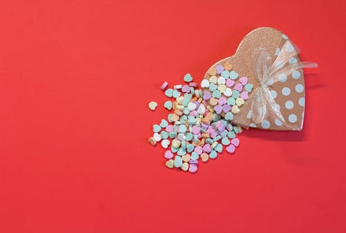 Free stock photo of candy, heart, holidays, love