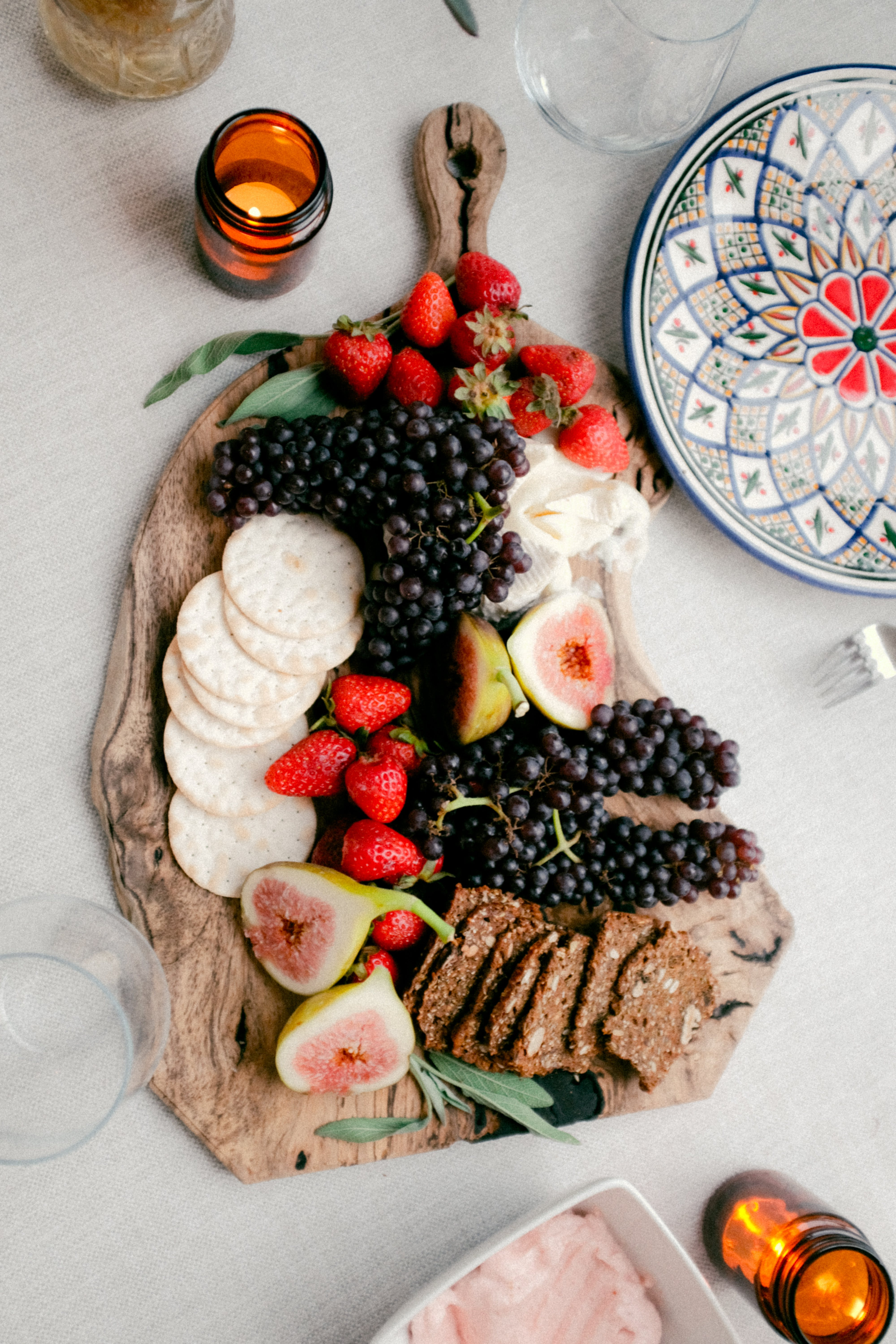 Assorted Variety Of Fruits On Tray