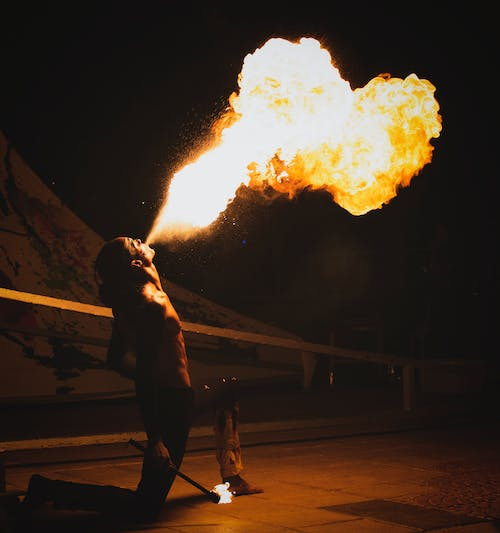 Free stock photo of dancer, exotic, fire