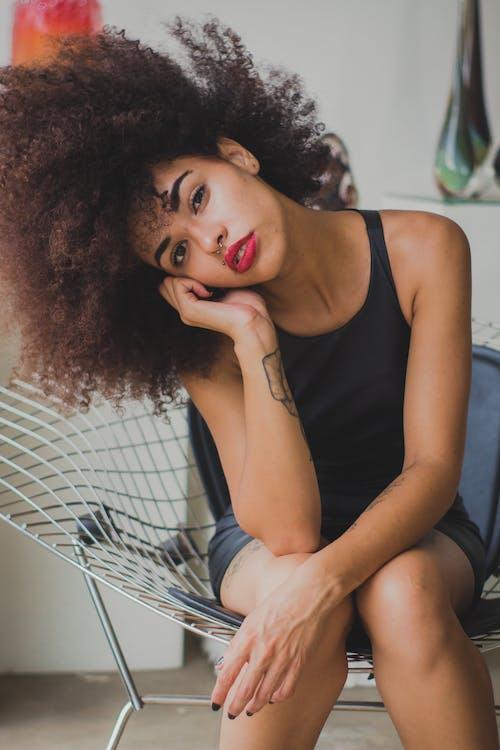 Fotobanka sbezplatnými fotkami na tému atraktívny, černoška, človek, krása