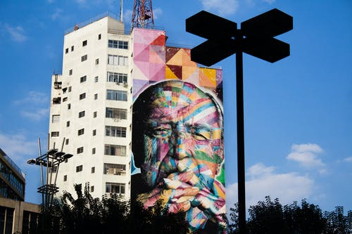 Fotos de stock gratuitas de arquitectura, arte mural, edificio, edificio alto