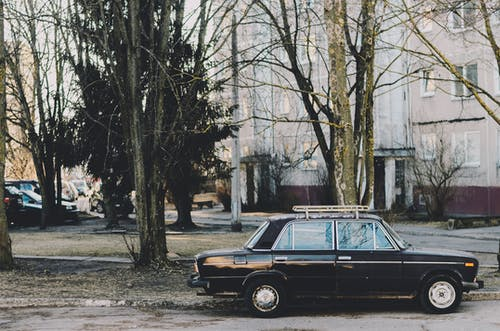 Foto stok gratis diparkir, jalan, kendaraan, klasik