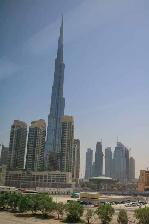 Základová fotografie zdarma na téma budova, Burdž Chalífa, strojírenství, výšková budova