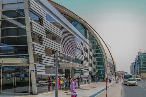 Základová fotografie zdarma na téma Dubaj, stanice metra
