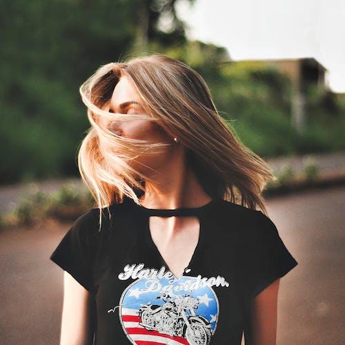 Immagine gratuita di capelli, capello, donna, persona